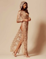 Agent Provocateur Gayle Gown Gold