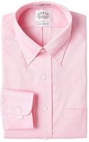 Eagle Cameo Pink Solid Regular Fit Dress Shirt