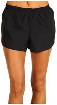 Nike Fundamental 2 Road Race Short (Black/Black/(Reflective Silver)) - Apparel