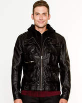 Le Château Leather-Like Moto Jacket