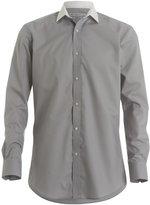 Kustom Kit Mens Contrast Collar Business Shirt