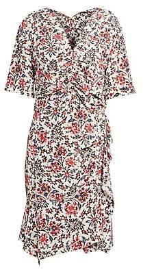 Isabel Marant Women's Arodie Floral Sheath Dress