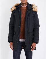BOSS Hooded shell down coat