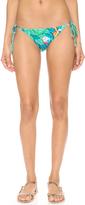 Mara Hoffman Reversible Leaf String Bikini Bottoms