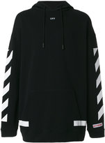 Off-White Off hoodied - men - Cotton - XS