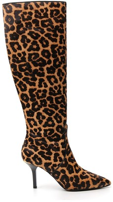 MICHAEL Michael Kors Katerina Leopard Print Knee-High Boots