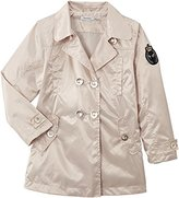 3 Pommes Girl's Plain or unicolor Coat - -