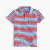 J.Crew Boys' striped pocket polo shirt