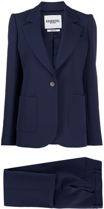 Essentiel Antwerp Fitted Two Piece Suit