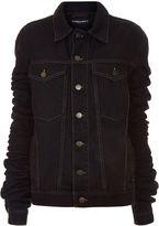 Y Project Black Denim Long Sleeve Jacket