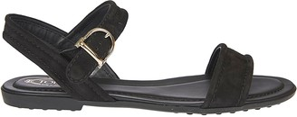 Tod's Tods Ankle Buckle Strap Sandals