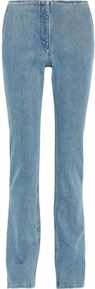 The Row Laban Faded Mid-rise Straight-leg Jeans