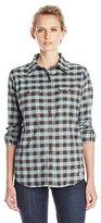 Carhartt Women's Hamilton Stretch Flannel Button Front Shirt
