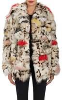 Saint Laurent Women's Fox-Fur Coat