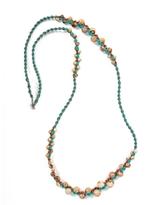 Chan Luu Multi Stone Cotton Cord Necklace