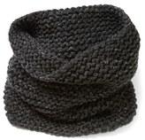 Lafayette 148 New York Hand Knit Metallic Cashmere Tube Scarf