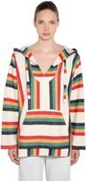 Alanui Baja Cashmere & Cotton Striped Jacket