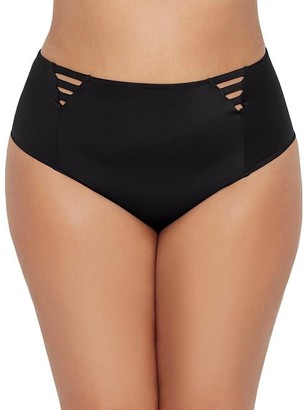Elomi Plus Size Magnetic High-Waist Bikini Bottom