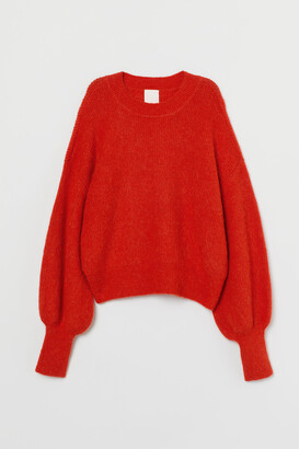 H&M Fine-knit Alpaca-blend Sweater
