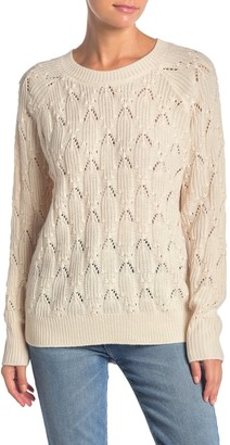 Elodie K Cable Knit Pullover Sweater