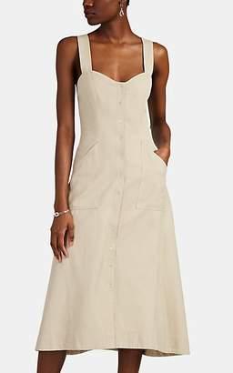 A.L.C. Women's Varelli Snap-Front Dress - Beige, Tan
