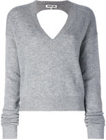 McQ by Alexander McQueen cut-out jumper - women - Cashmere/Wool - XS