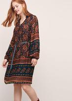 Violeta BY MANGO Paisley Print Dress