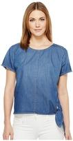 Calvin Klein Jeans Raw Edge Denim T-Shirt