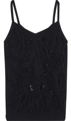 Nina Ricci Distressed Cotton Camisole