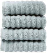 Melange Home Turkish Cotton Ribbed Wash Towels (Set of 4)