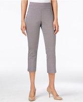 Charter Club Cambridge Pull-On Printed Capri Pants
