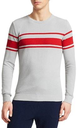 Saks Fifth Avenue MODERN Stripe Terry Knit Sweater