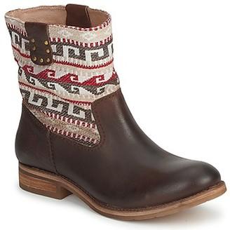 Koah DALIA women's Mid Boots in Brown