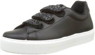 Victoria Women's Deportivo Piel Velcros Glitter Low-Top Sneakers
