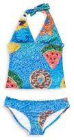Zara Terez Girl's Mister Krisp Halter Swimsuit