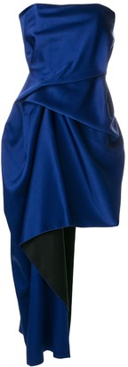 Roland Mouret Asymmetric Draped Dress