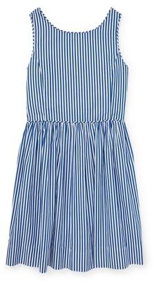 Ralph Lauren Bengal-Stripe Cotton Dress