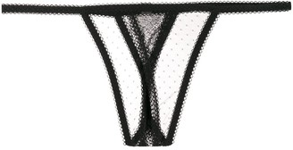 Maison Close Inspiration Divine thongs