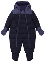 Cyrillus Navy and Cobalt Snowsuit with Mittens