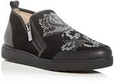 Donald J Pliner Mylasp Floral Slip-On Sneakers