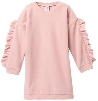 Harper Canyon Cozy Ruffle Sleeve Dress (Toddler, Little Girls, & Big Girls)