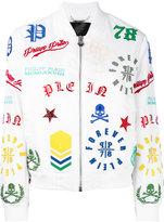 Philipp Plein Michelle bomber jacket - women - Cotton/Polyamide/Spandex/Elastane - XS
