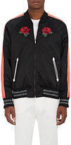 Ovadia & Sons Men's Embroidered Satin Souvenir Jacket
