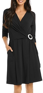 Karen Kane Faux-Wrap Dress