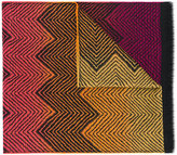 Missoni jacquard patterned scarf - women - Wool - One Size