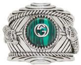 Gucci Silver Garden Ring