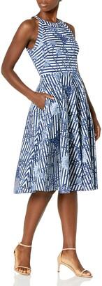 Brinker & Eliza Women's Fit and Flare Halter Dress (Regular Petite Plus)