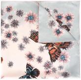Valentino Garavani Valentino butterfly print scarf - women - Silk - One Size