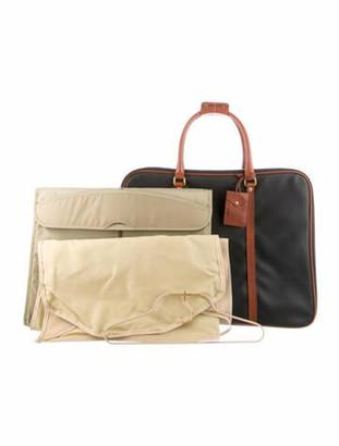 Bottega Veneta Vintage Marco Polo Travel Bag Black