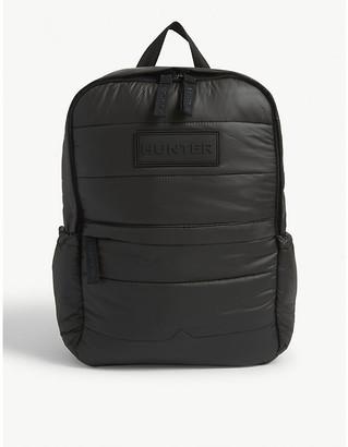 Hunter nylon puffer backpack